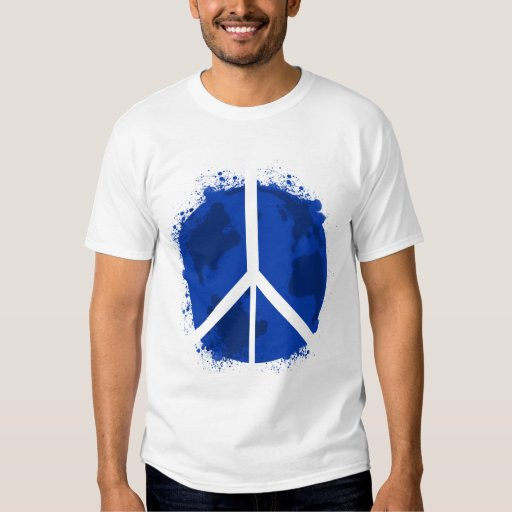 Paz de mundo playera