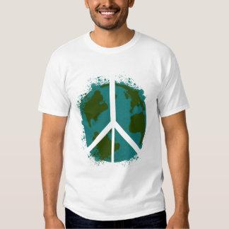 Paz de mundo playeras