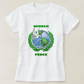 Paz de mundo poleras