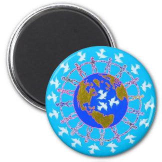 Paz de mundo por Metin Iman
