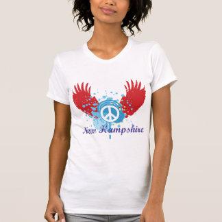 Paz de New Hampshire Camisetas