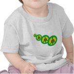 Paz de Rasta multi Camiseta