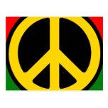 Paz de Rasta Postal
