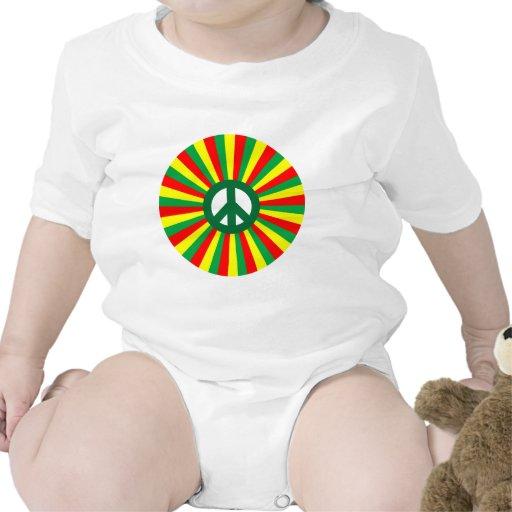 Paz de Rasta Traje De Bebé