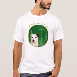 Paz de Russell Terrier del párroco Playera