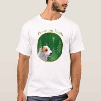 Paz de Russell Terrier del párroco (roto) Playera