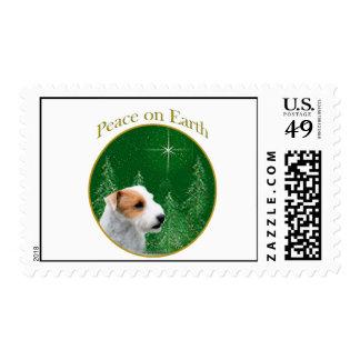 Paz de Russell Terrier del párroco (roto) Franqueo