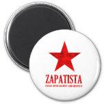 Paz de Zapatista Imanes Para Frigoríficos