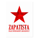 Paz de Zapatista Tarjeta Postal