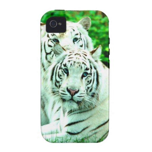 Paz del amor y stukenbrock blanco de los tigres de vibe iPhone 4 fundas