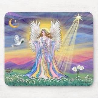 Paz del ángel mouse pads