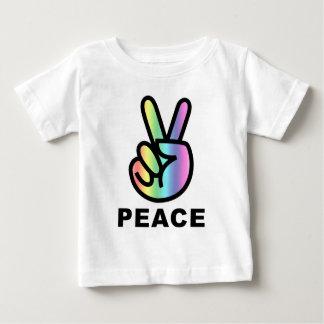 Paz del arco iris playera