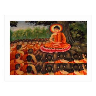 Paz   del Buddhism de BUDA Postal
