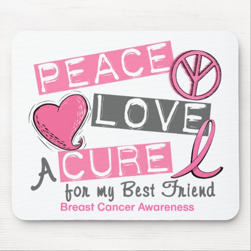 PAZ del cáncer de pecho, AMOR, una CURACIÓN 1 (mej Tapete De Raton
