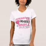 PAZ del cáncer de pecho, AMOR, una CURACIÓN 1 Camiseta