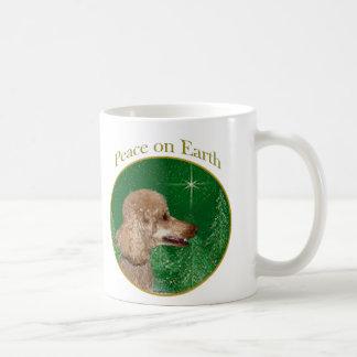Paz del caniche taza de café