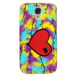 Paz del caso de Iphone 3 del corazón