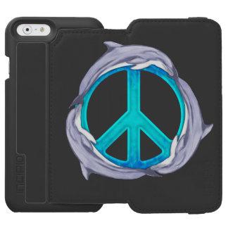 Paz del delfín funda billetera para iPhone 6 watson
