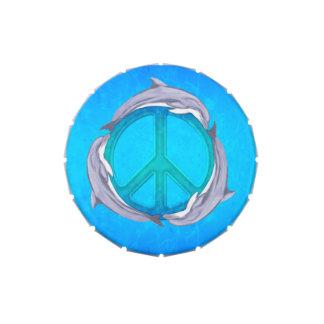 Paz del delfín frascos de caramelos