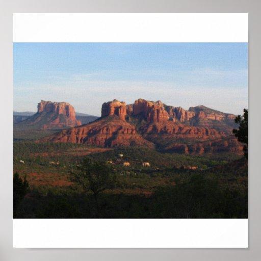 Paz del desierto, Sedona Arizona Póster