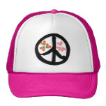 Paz del gorra de los corazones