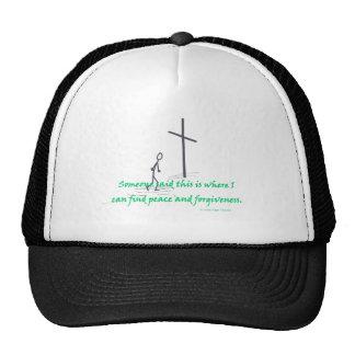 paz del hallazgo gorra