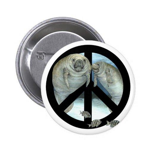 paz del manatee pin
