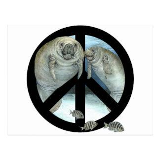 paz del manatee postal