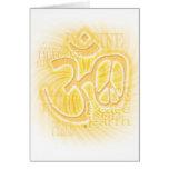 Paz del ohmio tarjetas