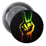 Paz del reggae de Cori Reith Rasta Pin