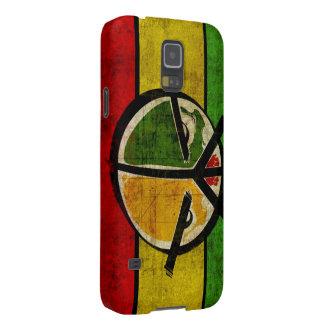 paz del reggae del rasta funda para galaxy s5