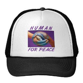 Paz del ser humano 4 gorras de camionero