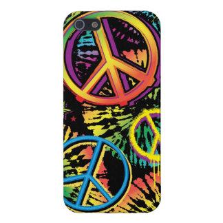 Paz del teñido anudado iPhone 5 carcasas