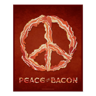 Paz del tocino póster