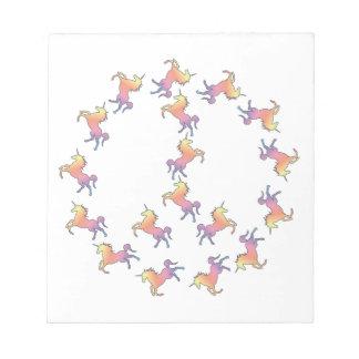 Paz del unicornio bloc