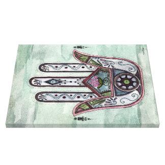 Paz dentro de nuestras manos impresión en lienzo estirada