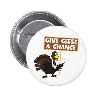 Paz divertida de la parodia de Turquía Pin