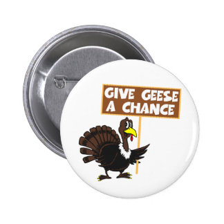 Paz divertida de la parodia de Turquía Pin Redondo 5 Cm