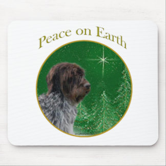 Paz el señalar Griffon Wirehaired Mouse Pad