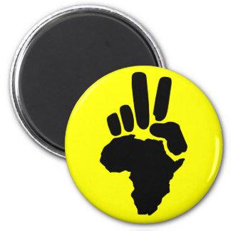 Paz en África Imán Para Frigorífico