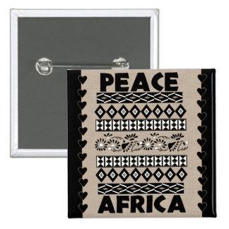 Paz en África Pins
