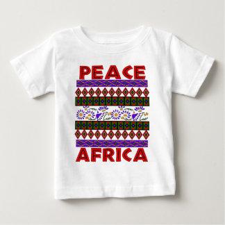 Paz en África Playera De Bebé