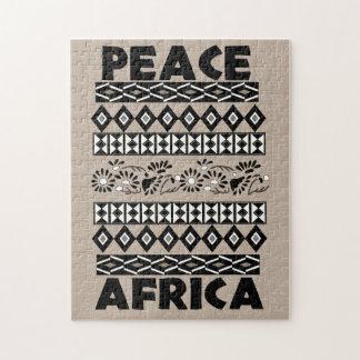 Paz en África Puzzle