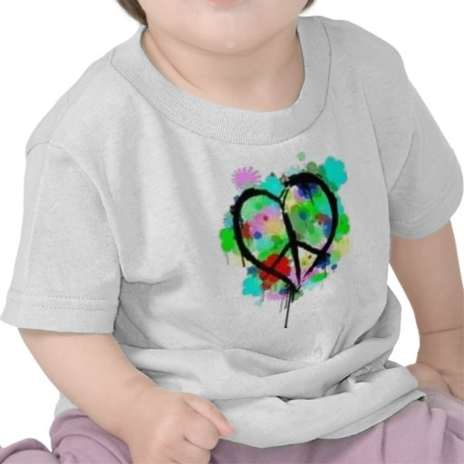 Paz en amor camiseta