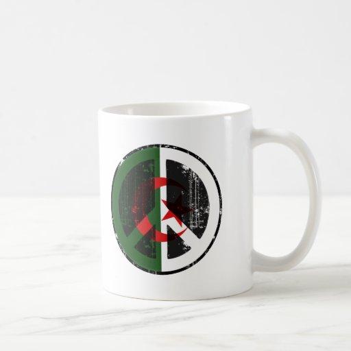 Paz en Argelia Taza De Café