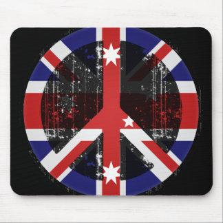 Paz en Australia Mouse Pad