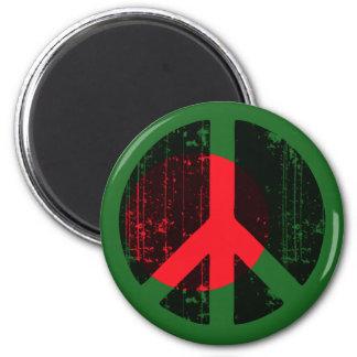 Paz en Bangladesh Imán Redondo 5 Cm