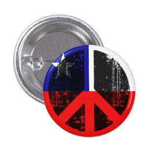Paz en Chile Chapa Redonda 2,5 Cm