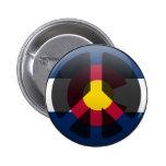Paz en Colorado Pin