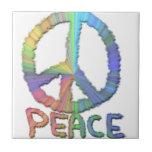 Paz en colores pastel tejas